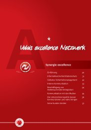 Valais excellence Netzwerk