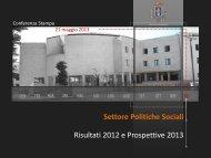 Presentazione Sociale - Provincia di Pordenone