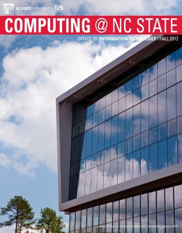 Computing @ NC State - OIT Website