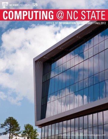 Computing @ NC State - OIT Website