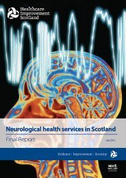Neurological health services in Scotland - Final Report - NHS Orkney
