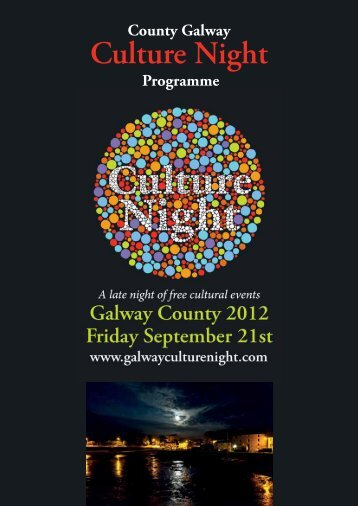 Culture Night - Galway County Council