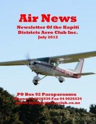 Air News - Royal New Zealand Aero Club