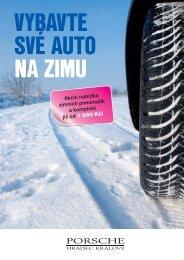 Nabídka zimních pneumatik - Porsche Hradec Králové