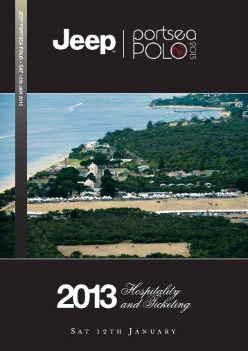 Booking Form - Portsea Polo
