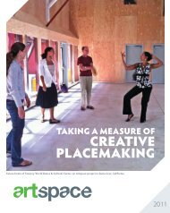 CreaTive PlaCeMaking - Artspace
