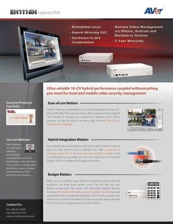 EH1116 - Remote-security.com