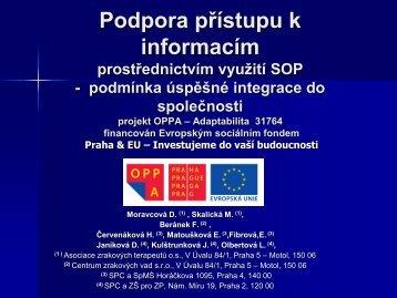 Teplice prezentace projektu 2010.pdf - Asociace zrakových ...