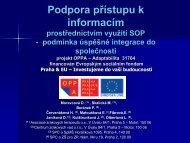 Závěrečná informace projektu 31072011.pdf - Asociace zrakových ...