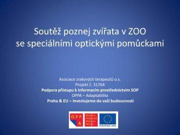 Soutěž poznej zvířata v ZOO.pdf - Asociace zrakových terapeutů os
