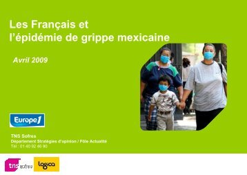 19OF91-Grippe mexicaine - TNS Sofres