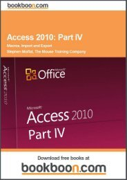 Access 2010: Part IV Language English Format: PDF ... - Tutorsindia