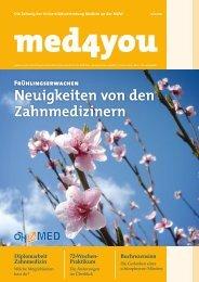 Neuigkeiten von den Zahnmedizinern - ÖH Medizin Wien