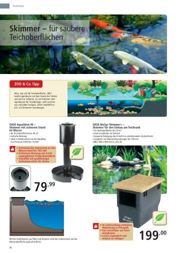 Zoo co aquaristik katalog s 77 114 zoo co aktuell for Aquaristik katalog