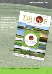mediadaten 2013 drive - Golf Valley GmbH
