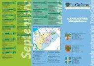 Agenda culturel Juin-Septembre 09 [1 Mo] - Chêne-Bougeries
