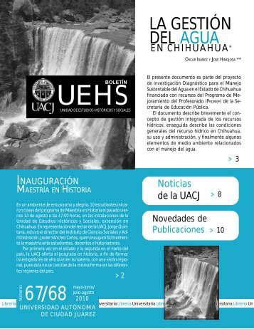 boletin 67-68 - Universidad Autónoma de Ciudad Juárez