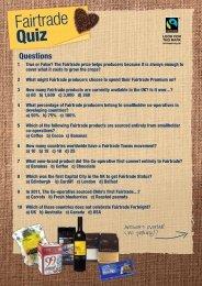 Fairtrade Quiz - The Co-operative