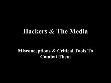 Hackers & The Media.pdf - dc414