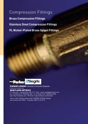 Compression Fittings - Maryland Metrics