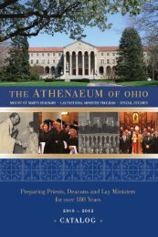 2010 Catalog cover - The Athenaeum Of Ohio