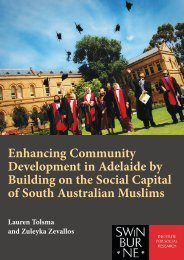 Enhancing Community Development in Adelaide by Building on the ...