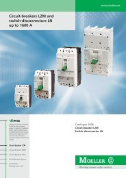 Circuit-breakers LZM and switch-disconnectors LN up to 1600 A