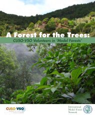 model forest - Cuso International