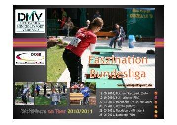 Bundesliga 2011 - Deutscher Minigolfsport Verband