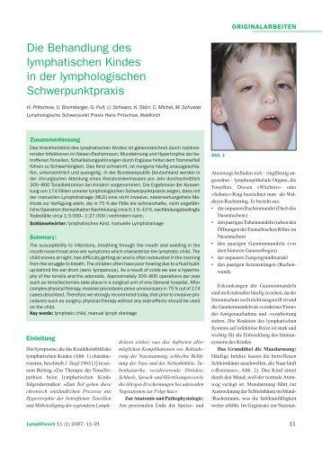 Das Lymphatische Kind... - ZML Pritschow