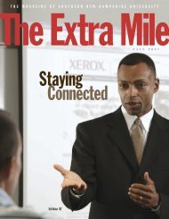 The Extra Mile - Fall 2007 - SNHU Academic Archive - Southern ...
