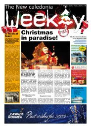 New Caledonia Weekly - Published 19-12-08 - hot deals