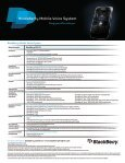BlackBerry Mobile Voice System - Page 2