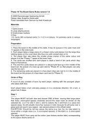 Phase 10 The Board Game Rules version 1.0 ...