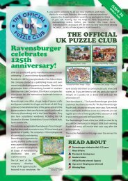 Ravensburger celebrates 125th anniversary! - Jigsaw Puzzles