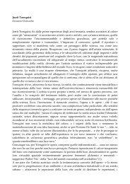 Leggi il testo del curatore Giovanni Granzotto - Artelab