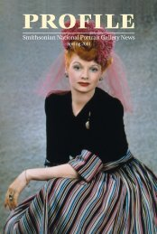 Download this issue - National Portrait Gallery - Smithsonian Institution