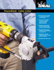 PowerBlade™ Cable Cutter - Conex Holland