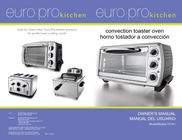 convection toaster oven horno tostador a convección