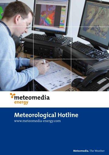 Meteorological Hotline - Meteomedia AG
