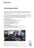 Meteorological Hotline - Meteomedia AG - Page 2