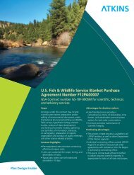 U.S. Fish & Wildlife Service Blanket Purchase Agreement Number ...