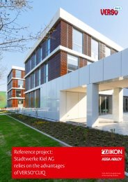 Reference project: Stadtwerke Kiel AG relies on the ... - Assa Abloy