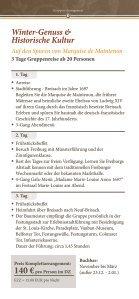 Gruppen-Arrangements Herbst & Winter - Alemannenhof-freiburg.de - Seite 3