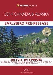 2014 CANADA & ALASKA - Scenic Tours