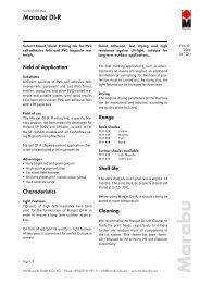 MaraJet DI-R - Marabu Printing Inks