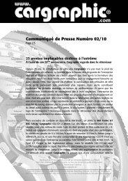 02/10 25 années implacables dédiées à l'extrême - Cargraphic