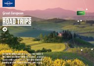 Great European Road Trips - Lonely Planet - Europcar