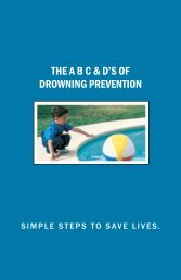 THE A B C & D'S OF DROWNING PREVENTION