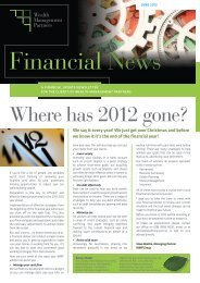 Where has 2012 gone? - WMP Group